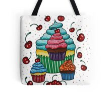 Sprinkles of Color - Acrylics on Mixed Media Paper Tote Bag