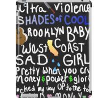 Ultraviolence by Lana Del Rey iPad Case/Skin