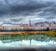 St Malo in the Rain by Ann Garrett
