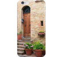Summertime - Pienza, Italy iPhone Case/Skin