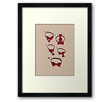 How to be Cool in 5 Easy Steps Framed Print