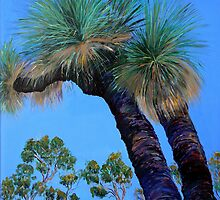 Grass Tree Cunningham's Gap Queensland  by Virginia McGowan