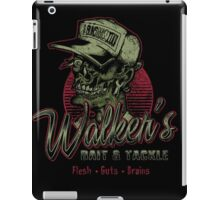 Walker's Bait N' Tackle iPad Case/Skin