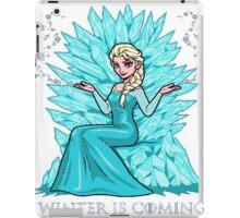 Frozen Elsa - Winter Is Coming iPad Case/Skin