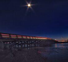 Vancouver Island Light Trails by JGibzz