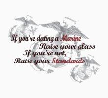 Dating a Marine by mrslowney