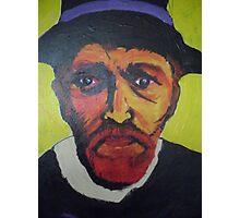 Portrait of Vincent Van Gogh Photographic Print