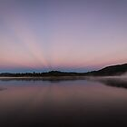 Wyaralong sunrise by Brent Randall