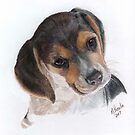 Teagan-Color Pencil by Marlene Piccolin