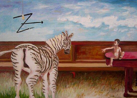 zebra by sergu