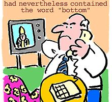 TV viewer makes complaint. by NigelSutherland
