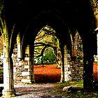 Eleanor's Courtyard by William Hallatt