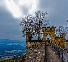 Burg Hohenzollern Castle, South Germany by Mark Bangert