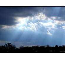 Heavenly Rays by Madeline M  Allen
