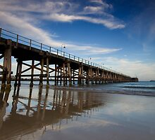 Coff Harbour Jetty 1 by Mark Snelson