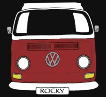ROCKY the VW Kombi by melodyart