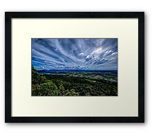 Mt French View Framed Print