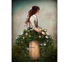 the key to her secret garden  Photographic Print