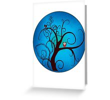 hoohoo II - tee Greeting Card