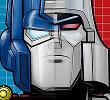 Optimus Prime/Megatron by Sweet101