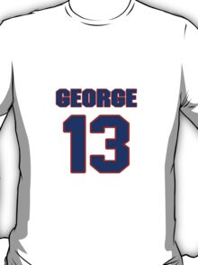 Basketball player Paul George jersey 13 T-Shirt