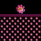 Dahlia - Pretty in Pink (II) by Evelyn Laeschke