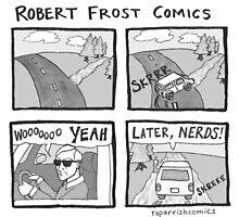 Robert Frost Comics by reparrish