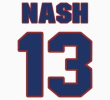 Basketball player Steve Nash jersey 13 by imsport