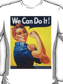 Rosie the Riveter - Recruitment  Poster T-Shirt