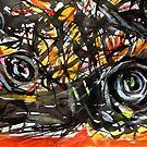 same painting....an emotional scene by banrai