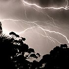 Cloud to cloud lightning by Duncan Waldron