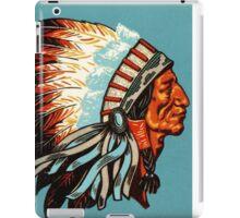 American Indian Chief Profile iPad Case/Skin