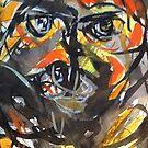 same painting.....emotional face by banrai