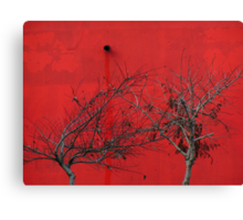 Trees are Hot Canvas Print