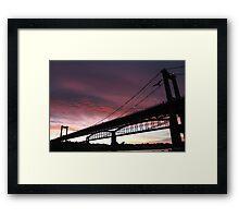 Tamar Dawn Framed Print