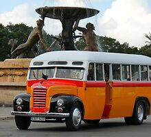 Malta Bus by DollyDoLittle