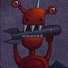 Robots, Monsters and Aliens by Rob Colvin
