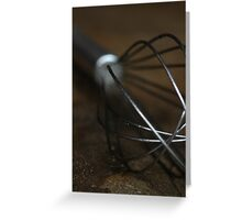 Kitchen Whisk Greeting Card