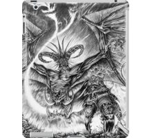 The demonic sorcerer iPad Case/Skin