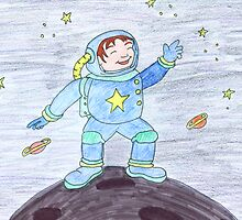Spaceman by Caroline Munday