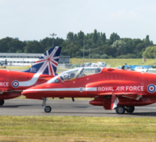 The Red Arrows Panoramic Sticker
