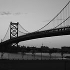 Ben Franklin Bridge by phlgrl33