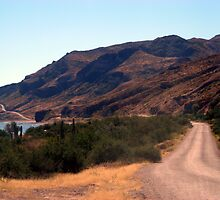 """""""Road Along The Water"""" on the Sea of Cortez in Mexico by cthomas"""