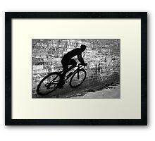 Shadow Racer Framed Print