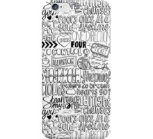 four collage iPhone Case/Skin