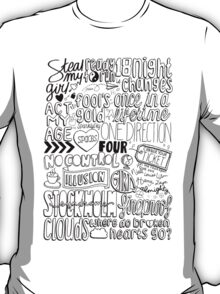 four collage T-Shirt