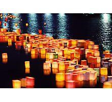 In rememberance -  Hiroshima, August 6 2003 Photographic Print