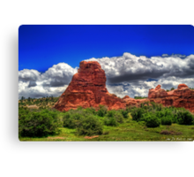 Summer in South Valley Canvas Print