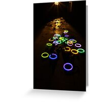 Electric Vespers Greeting Card