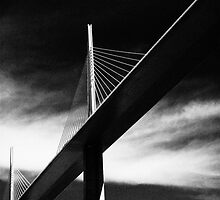 Millau Viaduc by Christian Galbally